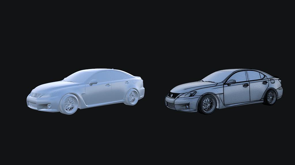 Lexus Model IS-F Screen 2