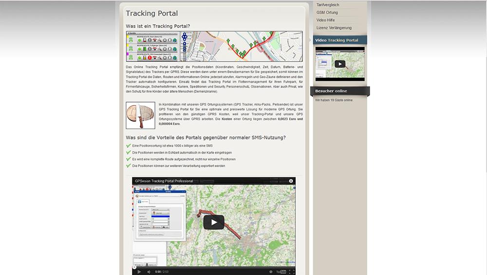 GPSVision Web Screen 3