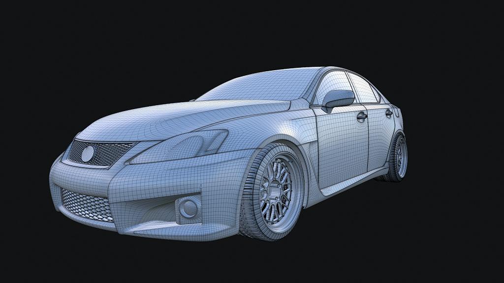 Lexus Model IS-F Screen 1